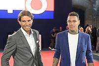 Rafael NADAL - Gregory VAN DER WIEL - Tommy X Nadal Event - Tommy Hilfinger - Paris 18 mai 2016 - FRANCE