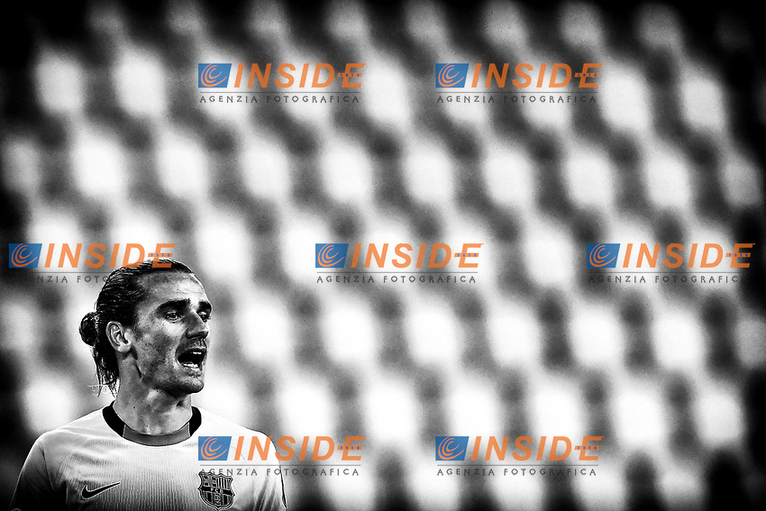 Antoine Griezmann of Barcelona reacts during the Champions League Group Stage G football match between Juventus FC and Barcelona at Juventus stadium in Torino (Italy), October, 28th, 2020. Photo Andrea Staccioli / Insidefoto