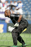 Jean Dominique Zephrin in goal. Honduras defeated Haiti 1-0 during the First Round of the 2009 CONCACAF Gold Cup at Qwest Field in Seattle, Washington on July 4, 2009.