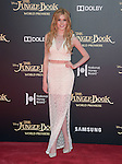 Katherine McNamara attends The Disney World Premiere of The Jungle Book held at The El Captian theatre  in Hollywood, California on April 04,2016                                                                               © 2016 Hollywood Press Agency