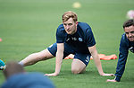 FK Trakai v St Johnstone…05.07.17… Europa League 1st Qualifying Round 2nd Leg<br />St Johnstone training at the LFF Stadium in Vilnius, Lithuania pictured Liam Craig during the session<br />Picture by Graeme Hart.<br />Copyright Perthshire Picture Agency<br />Tel: 01738 623350  Mobile: 07990 594431