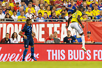 Tampa, FL - Thursday, October 11, 2018: Bobby Wood during a USMNT match against Colombia.  Colombia defeated the USMNT 4-2.