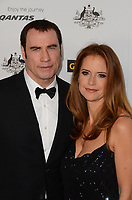 12 July 2020 - Actress and wife of John Travolta Kelly Preston dead at age 57 from breast cancer.14 January 2012 - Hollywood, California - John Travolta and Kelly Preston. 9th Annual G'Day USA Los Angeles Black Tie Gala held at The Hollywood & Highland Center. Photo Credit: Byron Purvis/AdMedia