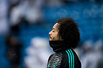 Marcelo Vieira Da Silva of Real Madrid reacts prior to the La Liga 2017-18 match between Real Madrid and Villarreal CF at Santiago Bernabeu Stadium on January 13 2018 in Madrid, Spain. Photo by Diego Gonzalez / Power Sport Images