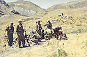 Iraq 1983 <br /> In Qalashin, 1st left, Dr. Said Barzani, 3rd, Nechirvan Barzani   <br /> Irak 1983 <br /> A Qalashin, 1er a gauche, Dr. Said Barzani, 3eme , Nechirvan Barzani