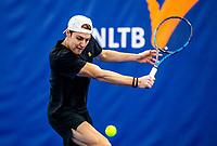 Amstelveen, Netherlands, 14  December, 2020, National Tennis Center, NTC, NK Indoor, National  Indoor Tennis Championships, Qualifying:    Deney Wasserman (NED) <br /> Photo: Henk Koster/tennisimages.com