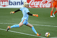 Portland, OR - Wednesday March 14, 2018: Jane Campbell during a National Women's Soccer League (NWSL) pre season match between the Houston Dash and the Chicago Red Stars at Merlo Field.