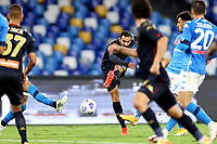 Davide Zappacosta of Genoa CFC in action during the Serie A football match between SSC Napoli and Genoa CFC at San Paolo stadium in Napoli (Italy), September 27th, 2020. Photo Cesare Purini / Insidefoto
