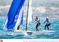 47 Trofeo Princesa Sofia IBEROSTAR, bay of Palma, Mallorca, Spain, takes<br /> place from 25th March to 2nd April 2016. Qualifier event for the Rio 2016<br /> Olympic Games. Over 800 boats and 1.000 sailors from to 68 nations<br /> ©Pedro Martinez/Sailing Energy/Trofeo Sofia