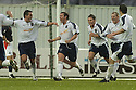 27/11/2004  Copyright Pic : James Stewart.File Name : jspa01_falkirk_v_ross_county.STEVEN MCGARRY (CENTRE)  CELEBRATES SCORING ROSS COUNTY'S FIRST.....Payments to :.James Stewart Photo Agency 19 Carronlea Drive, Falkirk. FK2 8DN      Vat Reg No. 607 6932 25.Office     : +44 (0)1324 570906     .Mobile   : +44 (0)7721 416997.Fax         : +44 (0)1324 570906.E-mail  :  jim@jspa.co.uk.If you require further information then contact Jim Stewart on any of the numbers above.........