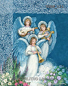 Randy, HOLY FAMILIES, HEILIGE FAMILIE, SAGRADA FAMÍLIA, paintings+++++Musical-Angels-Three,USRW121,#xr#
