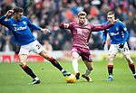 Rangers v St Johnstone…16.02.19…   Ibrox    SPFL<br />David Wotherspoon and Borna Barisic<br />Picture by Graeme Hart. <br />Copyright Perthshire Picture Agency<br />Tel: 01738 623350  Mobile: 07990 594431