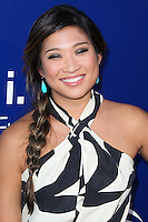 LAGUNA BEACH, CA, USA - AUGUST 16: Actress Jenna Ushkowitz arrives at the 7th Annual Oceana's Annual SeaChange Summer Party on August 16, 2014 in Laguna Beach, California, United States. (Photo by Xavier Collin/Celebrity Monitor)