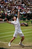 24-06-10, Tennis, England, Wimbledon, Andy Murray