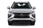 Car photography straight front view of a 2021 Mitsubishi Eclipse-Cross Invite 5 Door SUV Front View