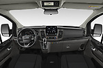 Stock photo of straight dashboard view of 2020 Ford Transit-Custom Nugget 4 Door Camper Van Dashboard