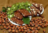 Frutta secca. Dry fruits. Nocciole. Hazelnuts...