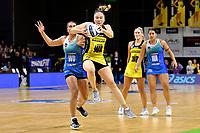Whitney Souness of the Pulse during the ANZ Premiership Netball - Te Wānanga o Raukawa Pulse v Northern Mystics at TSB Bank Arena, Wellington, New Zealand on Monday 10 May 2021.<br /> Photo by Masanori Udagawa. <br /> www.photowellington.photoshelter.com