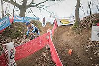 Alicia Franck (BEL/Marlux-Napoleon Games)<br /> <br /> women's race<br /> CX Soudal Classics Leuven/Belgium 2017