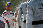 #6 Acura Team Penske Acura DPi, DPi: Juan Pablo Montoya, Dane Cameron, Champagne