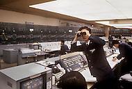 October, 1980. Tokyo, Japan. Subway headquarters of Tokyo.