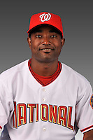 14 March 2008: ..Portrait of Eude Brito, Washington Nationals Minor League player at Spring Training Camp 2008..Mandatory Photo Credit: Ed Wolfstein Photo