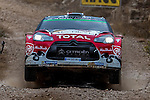 MEEKE Kris / NAGLE Paul (CITROËN DS3 WRC) during the World Rally Car RACC Catalunya Costa Dourada 2016 / Rally Spain, in Catalunya, Spain. October 15, 2016. (ALTERPHOTOS/Rodrigo Jimenez)
