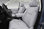 Front seat view of a 2018 Toyota sequoia trd sport 5 Door SUV front seat car photos