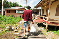 Vila Progresso, ACTB<br /> Arquipélago do Bailique, Amapá, Brasil.<br /> Foto Paulo Santos<br /> 12 / 09 / 2016