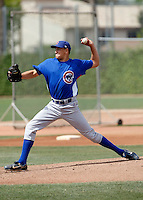 Cody Hams  - Chicago Cubs - 2009 extended spring training.Photo by:  Bill Mitchell/Four Seam Images