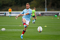 Charlie Gowling of London Scottish during the Championship Cup match between London Scottish Football Club and Nottingham Rugby at Richmond Athletic Ground, Richmond, United Kingdom on 28 September 2019. Photo by Carlton Myrie / PRiME Media Images