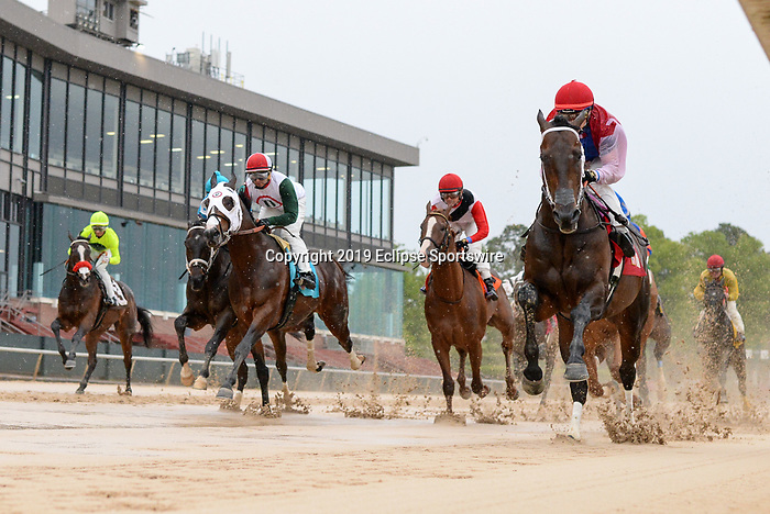 April 11, 2020:   Oaklawn Heritage race at Oaklawn Racing Casino Resort  on April 11, 2020 in Hot Springs, Arkansas. (Photo by Ted McClenning/Eclipse Sportswire/Cal Sport Media)