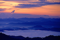 Images from the Book Journey Through Colour and Time, Sunrise near Mt.Kota Kinabalu, Malaysia