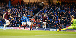 03.04.2019 Rangers v Hearts: Jermain Defoe goes close