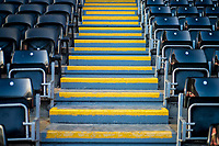 Detail of Chairs and steps <br /> Re: Behind the Scenes Photographs at the Liberty Stadium ahead of and during the Premier League match between Swansea City and Bournemouth at the Liberty Stadium, Swansea, Wales, UK. Saturday 25 November 2017