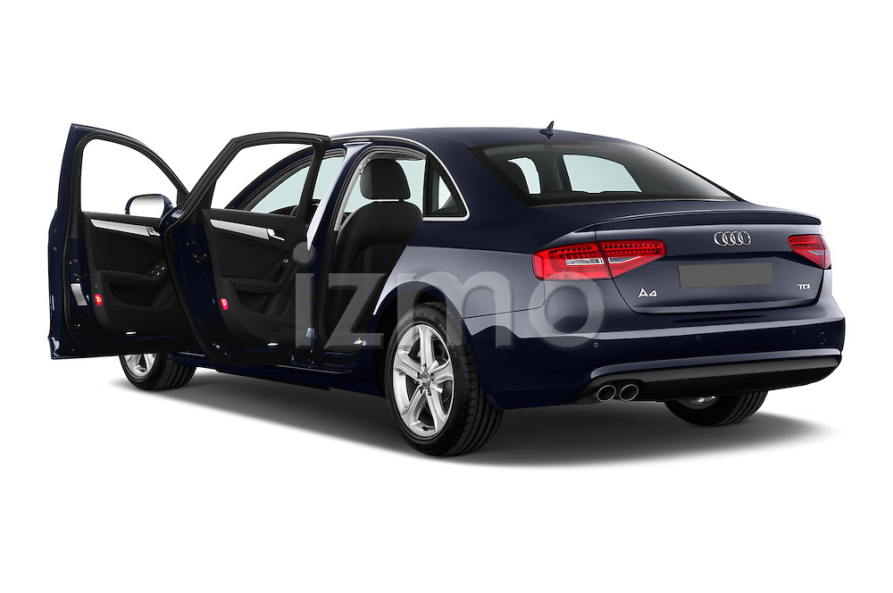 Rear three quarter door view of a 2014 Audi A4 AMBITION LUXE 4 Door Sedan 2WD