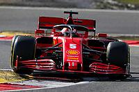 10th October 2020, Nuerburgring, Nuerburg, Germany; FIA Formula 1 Eifel Grand Prix, Qualifying sessions;  5 Sebastian Vettel GER, Scuderia Ferrari Mission Winnow