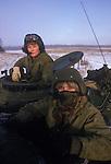 Danish army tank unit female women soldiers 1990s Denmark.