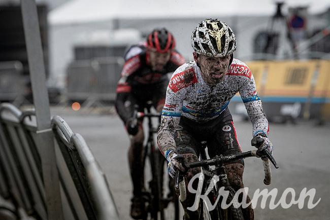 European CX Champion Eli Iserbyt (BEL/Pauwels Sauzen-Bingoal)<br /> <br /> 2021 Flandriencross Hamme (BEL)<br /> Men's Race<br /> <br /> ©kramon