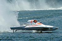"13-14 June, 2009, APBA Inboards, Walled Lake, Novi, MI. USA.Tony Black, NM-928 ""Illusion"", National Mod hydroplane.©F. Peirce Williams 2009 USA.F.Peirce Williams.photography.ref: RAW (.NEF) File Available"