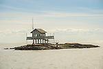 Thimble Islands. Long Island Sound. House on Stilts Island.