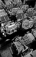 Mandello del Lario, sede della fabbrica della Moto Guzzi 2001