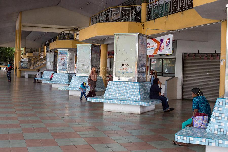 Bus Station Waiting Area, Taiping, Malaysia.