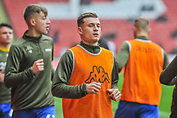 Leeds United's midfielder Ezgian Alioski (10) during the Sky Bet Championship match between Sheff United and Leeds United at Bramall Lane, Sheffield, England on 1 December 2018. Photo by Stephen Buckley / PRiME Media Images.