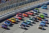 Monster Energy NASCAR Cup Series<br /> GEICO 500<br /> Talladega Superspeedway, Talladega, AL USA<br /> Sunday 7 May 2017<br /> Denny Hamlin, Joe Gibbs Racing, FedEx Express Toyota Camry<br /> World Copyright: Nigel Kinrade<br /> LAT Images<br /> ref: Digital Image 17TAL1nk06372