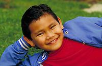 CAMBODIAN-AMERICAN BOY PORTRAIT. CAMBODIAN-AMERICAN BOY. FRESNO CALIFORNIA USA.