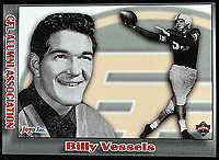 Billy Vessels-JOGO Alumni cards-photo: Scott Grant
