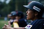 Japan Coach/Tainer Nagano Eriko during the BFA Women's Baseball Asian Cup match between Pakistan and Japan at Sai Tso Wan Recreation Ground on September 4, 2017 in Hong Kong. Photo by Marcio Rodrigo Machado / Power Sport Images