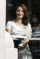 NEW YORK, NY - July 19:  Kristin Davis on the set of the HBOMax Sex and the City reboot series And Just Like That on July 19, 2021 in New York City. <br /> CAP/MPI/RW<br /> ©RW/MPI/Capital Pictures