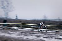 CX World Champion Wout Van Aert (BEL/Cibel-Cebon)<br /> <br /> Superprestige Zonhoven (BEL) 2018